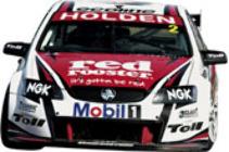 1:18 Classic Carlectable 18428 2010 Garth Tander #2 HRT Holden