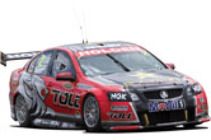 1:18 Classic Carlectable 18466 Garth Tander 2011 Championship car HRT