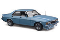 1:18 Classic Carlectable 18479 Holden HZ GTS 1978 Atlantis Blue
