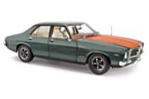 1:18 Classic Carlectable 18338 Holden HQ Monaro GTS Gunmetal Metallic with Lone O'Ranger Stripes