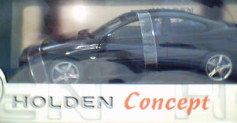 1:18 Biante Holden VT Coupe Concept Car - Blue Black