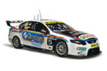 1:18 Classic Carlectable 18518 Ford Retro car 2012 Bathurst Winterbottom  (Creased box )