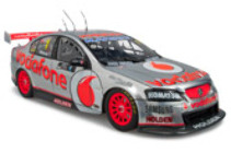 1:18 Classic Carlectable 18514 Jamie Whincups 2012 Championship winners car