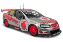 1:18 Classic Carlectable 18525 Craig Lowndes 2012 End of a era Vodafone
