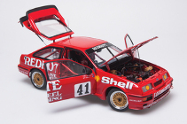 1:18 Biante Ford Sierra RS500 No 41 Johnson /Bowe 1988 ETCC Certificate Signed by both Drivers