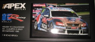 1:18 Apex Holden VE Commodore #51 Greg Murphy Owen Kelly  2012 Bathurst