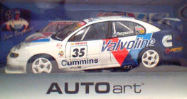 1:18 Biante  Valvoline Commodore 'Bargwanna'