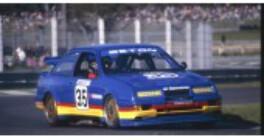 1/43 Apex Ford Sierra Glenn Seton 1990 Sandown Winner