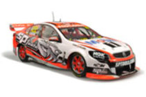 1:18 Classic Carlectable 185589 Holden Racing Team 2014 James Courtney