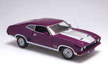 1:18 Biante Ford XB Falcon Hardtop Mulberry with siver accents
