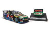1:18 Classic Carlectable Ford Falcon FPR Winterbottom Signed Sandown 18563 with display bonnet