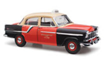 1:18 Classic Carlectables Holden FC Deluxe red cabs 18566 Taxi
