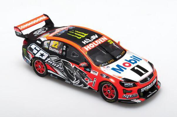 1/43 Holden VF #22 Courtney Clipsal 500