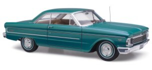 1/18 Diecast Replicas Ford Falcon XP Futura  Hardtop Green Velvet (now in stock