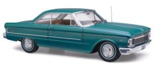 1/18 Diecast Replicas Ford Falcon XP Futura  Hardtop Green Velvet