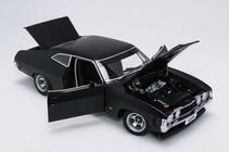 1/18 Ford XA GT Hardtop Plain body Matte Black A87317