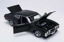 1/18 Ford XA GT Hardtop Plain body Matte Black A87317