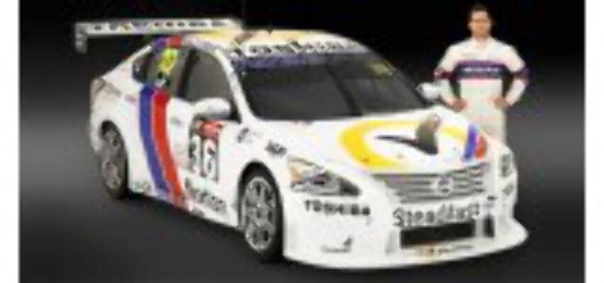 1/18 Nissan M Caruso 2014 Retro  AD80808