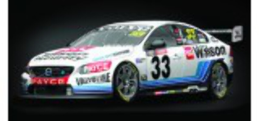 1/18 2016 Bathurst  #33 Volvo S60 AD80908 Mclaughlin/Wall