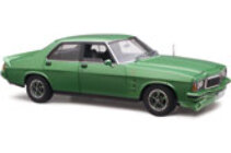 1/18 Holden HZ GTS Metalic green 4 door Free postage in aus