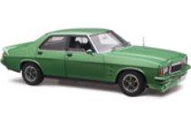 1/18 Holden HZ GTS Metalic green 4 door Free postage in aus