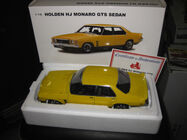 1/18 Holden HJ GTS Absinthe Yellow