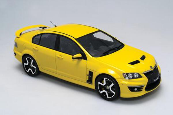1/18 Holden HSV E3 GTS Hazard Yellow
