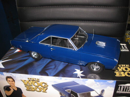 1/18 1969 VE Chrysler Valiant By Greenlight /DDAUS WOG BOY Movie