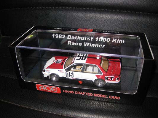 1/43 Ace models 1982 Bathurst winner with decals suppled Brock