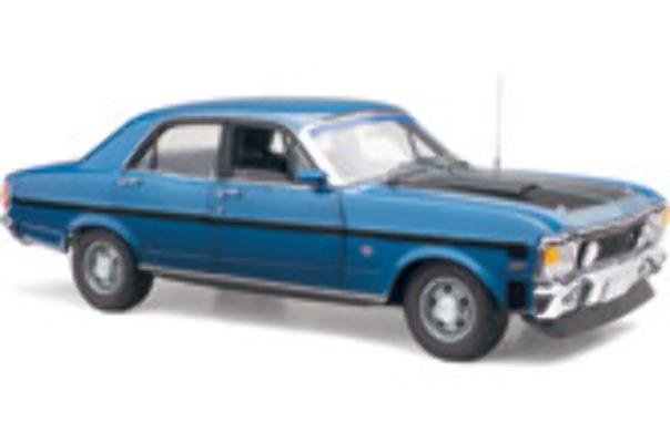 1/18 Classic Ford XW  Falcon GT-HO Ph2 Starlight Blue