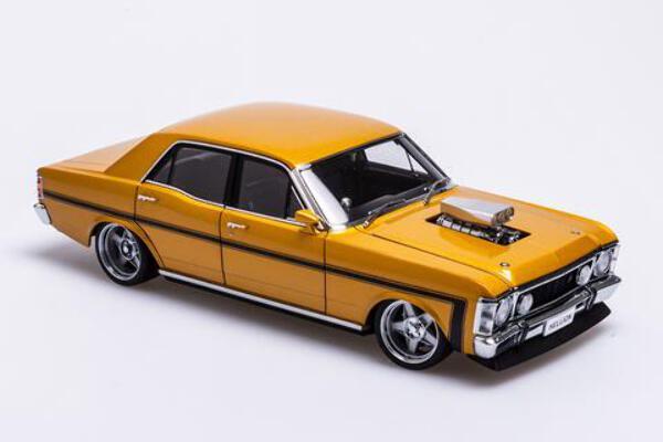 "1/18 Ford XW Falcon Street Machine ""Hellion"" Gold Rush  (Free Postage in Australia $25 to New Zealand"