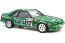 1/18 18638 1985 Ford Mustang Johnson/ free postage in aus ($30 to NZ )in stock