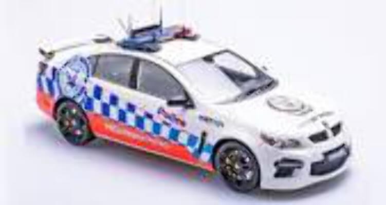 1/18 Apex HSV GEN-F GTS NSW Highway patrol