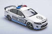 1/18 APEX Ford Falcon GT R SPEC NSW Highway Patrol HWP150 White LTD ED OF 672