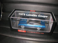 1/43 ACE 1975 FORD LANDAU COUPE COSMIC BLUE LIMITED EDITION OF JUST 75