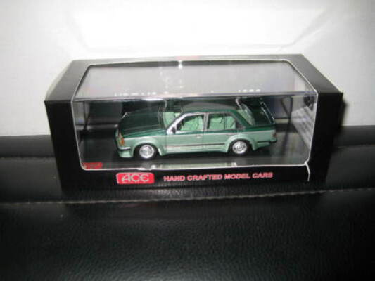 1/43 ACE HOLDEN HDT VC BROCK COMMODORE 1980 PROTOTYPE 001 2 TONE GREEN LTD ED