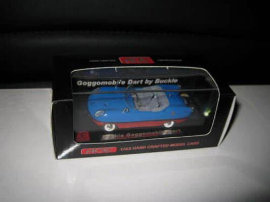 1/43 ACE MODEL CARS BUCKLE GOGGOMOBILE DART BLUE OVER RED