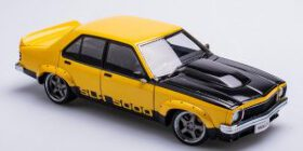 "1/18 Holden LX Torana SLR5000  street machine ""Menace"" solar flare Metallic yellow"