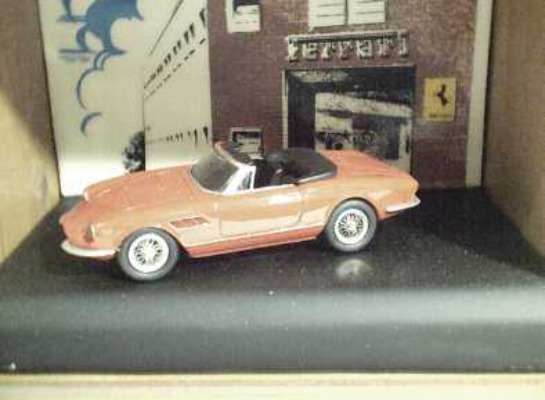 1:43 Tenth Anniversary Ltd Edn Ferrari 330 GTS Special Display