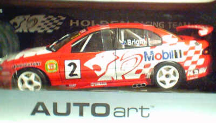 1:18 Biante Bright HRT 2001 Presentation Car