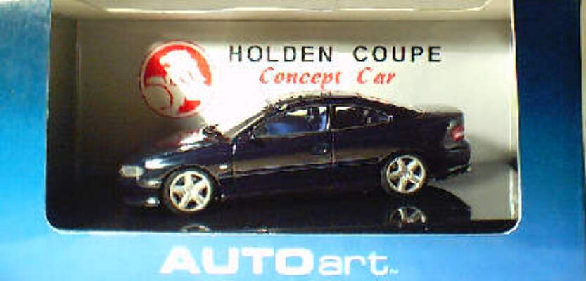 1:43 Biante 2 Door VT Commodore Blue/black concept