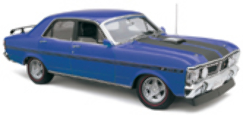 1:18 Classic Carlectable 18288 FORD XY GT HO PH3 Electric Blue