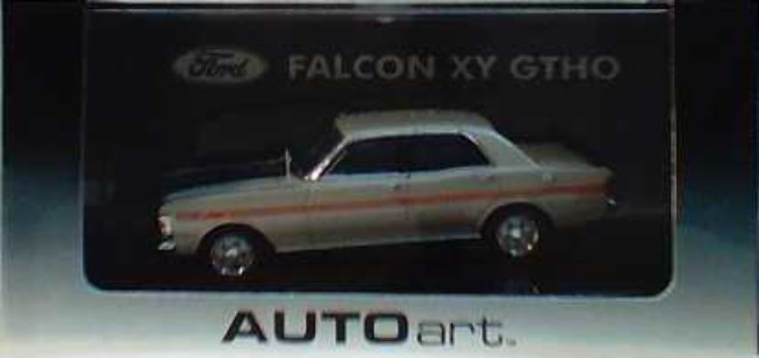 1:43 Biante Ford Falcon XY GTHO Quick Silver