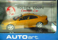 1:43 Biante 2 Door VT Commodore AutoArt Mustard