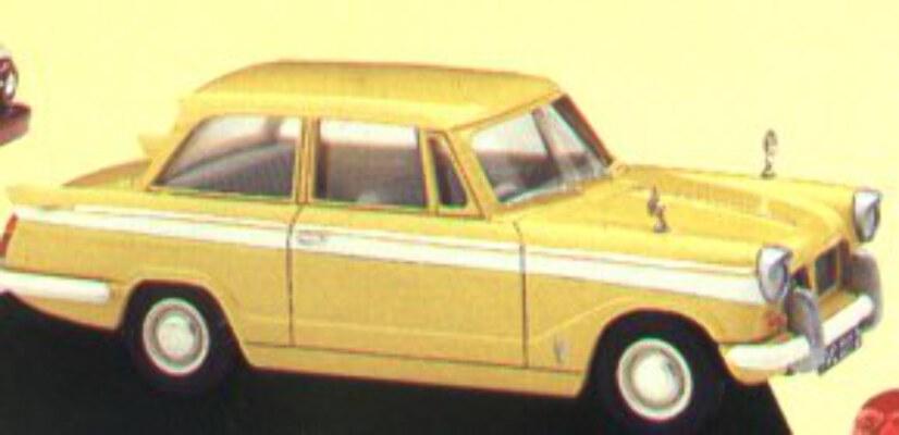 VA5002 Yellow Triumph Herald