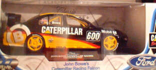 1:18 Classic Carlectable 18009 Bowe Caterpillar Racing Falcon