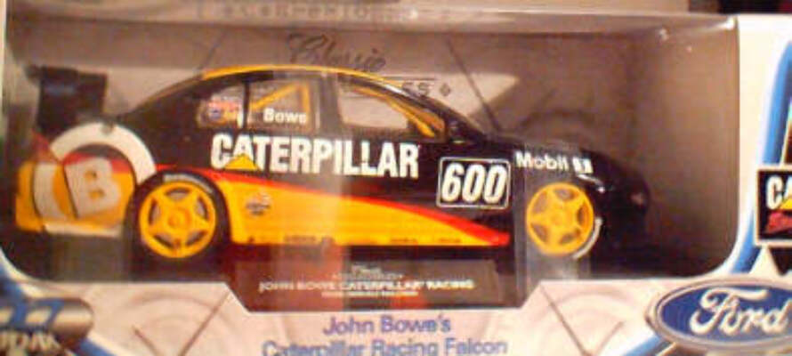 1:18 Classic Carlectable 18009 Bowe Caterpillar Racing Falcon