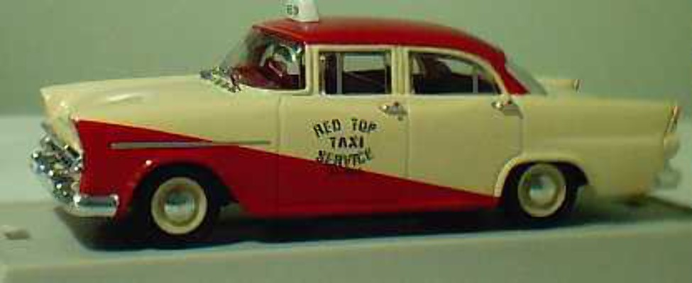 TR20G FB Holden Taxi - Red Top