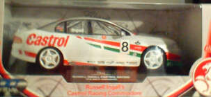1:18 Classic Carlectable 18012 Russell Ingall Castrol Racing Commodore