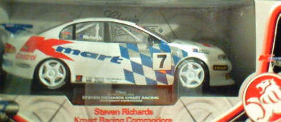 1:18 Classic Carlectable 18008 Steven Richards Kmart Commodore
